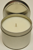 6 pack of Emergency SOY CANDLE TINS 8oz